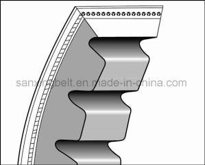 EPDM Rubber Cogged V Blet Conveyor Belt for Industrial Transmission