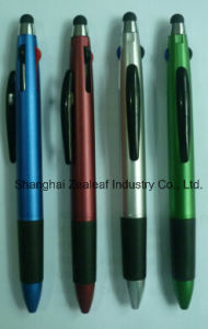 4 Color Ball Pen with Touch Pen-Nn150126c