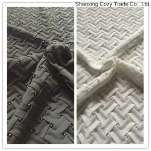Hot New Design Braided Crossed Chiffon Belt Fabric with Bead for Fashion Garment, Cushion etc pictures & photos
