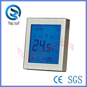 Touch Screen Panel Metal Thermostat for Underfloor Heating for Water Heating (MT-10-F) pictures & photos