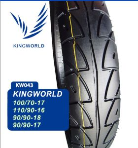 100/70-17 Motorcycle Tubeless Tire to South America pictures & photos