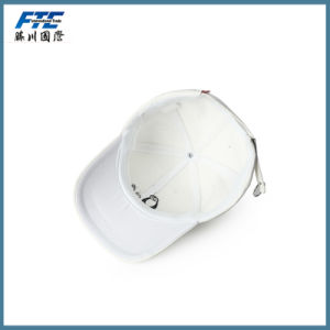 PU Baseball Cap Custom Leather Embroidery Golf Cap pictures & photos