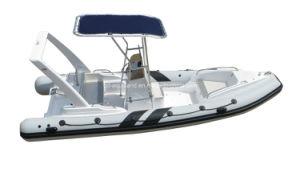 Aqualand 21feet 6.5m Rigid Inflatable Boat /Rib Fishing Boat (RIB650c) pictures & photos