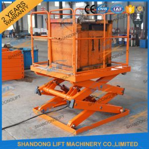 Hydraulic Fixed Warehouse Lift Table pictures & photos