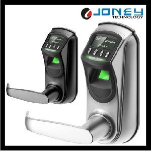 Zinc Alloy Zk Software Digital Pin Key Fingerprint Biometric Door Lock pictures & photos