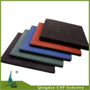 Popular Indoor Hot Selling Rubber Tile for Gym pictures & photos
