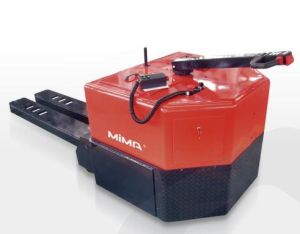 Mima Electric Pallet Truck with Load Capacity 12t pictures & photos