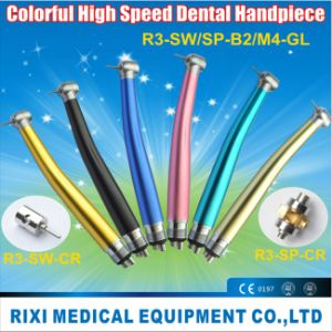 Colorful High Speed Dental Handpiece