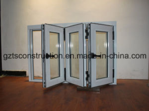 Double Glazed Aluminium Folding Window Aluminum Bi Fold Window pictures & photos