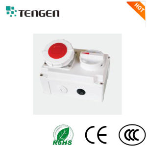 Mechanical Interlock Socket with Switch IP44 IP67 16A pictures & photos