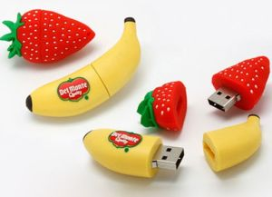 Sweet Fruit USB Flash Disk 4GB with 5 Years Warranty (J-086)