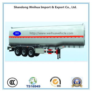 50cbm Oil / Fuel Tanker Truck / Tanker Trailer From Manufacturer pictures & photos