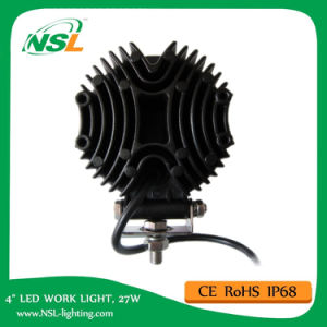Hot Sale High Quality LED Working Light and High Lumen 27W LED Driving Light Work Light, LED Lamp, Offroad Light, LED Light, LED Spot/Flood Light pictures & photos