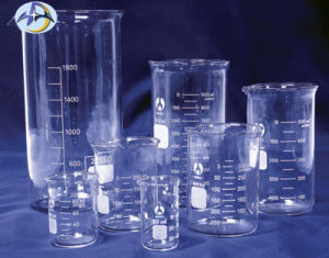 Borosilicate Measuring Cup for Laboratory Glassware pictures & photos