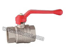 Standard Bore Female Forged Brass Ball Valve pictures & photos