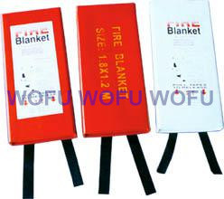 100% Woven Glass Fibre Fire Blanket Packed with PVC Hard Box pictures & photos