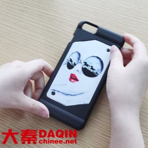 Making Mobile Phone Sticker Cutting Machine for Mobile Case Sticker pictures & photos