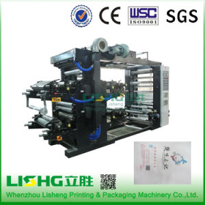 Ytb-4800 High Technology Plastic PE Film Flexo Printing Machinery pictures & photos