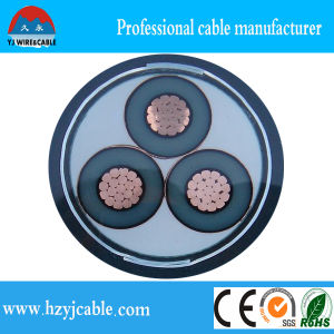 50mm, 70mm, 120mm, 150mm Multicore Copper Conductor XLPE Insulated PVC Sheath Armoured Yjv Power Cable pictures & photos