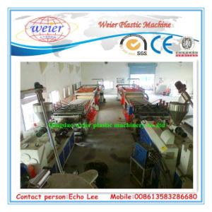 PVC Foam Board Extrusion Line for Building Templete pictures & photos