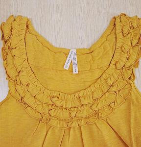 Fashion Apparel Women Cotton Breathable Vest Tank Top pictures & photos