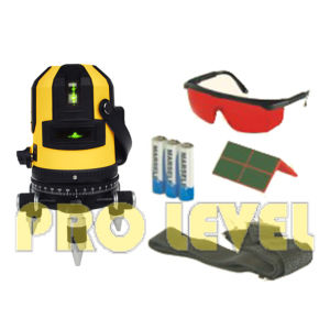 Self-Leveling Multi-Line 4V1h1d Green Laser Level (SK-411G) pictures & photos