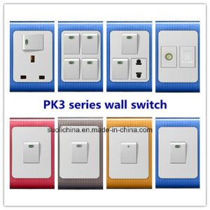 Pk3 Series Wall Switch with Different Color and Design pictures & photos