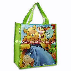 Winnie The Pooh Medium Non-Woven Reusable Handbag Tote Bag pictures & photos