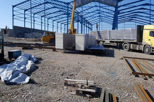 Light Steel Structure Modular/Mobile/Prefab/Prefabricated Workshop pictures & photos