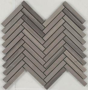 Stone Mosaic Tile (SMI-89(B01P))