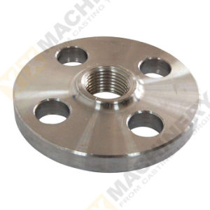 ANSI Customized Steel Stainless Welding Blind Threaded Forging Forged Flange pictures & photos