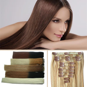 Silky Straight Weaving Blonde Remy Human Hair Product pictures & photos
