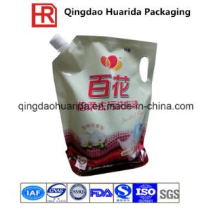 Liquid Food Packaging Bag, Plastic Stand up Spout Pouch pictures & photos