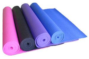Unicolor PVC Yoga Mat pictures & photos