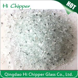 Crushed Glass Mirror Chips Manufacturer pictures & photos