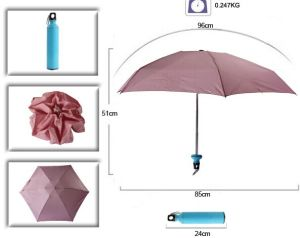 19 Inch Water Bottle Shaped Umbrella pictures & photos