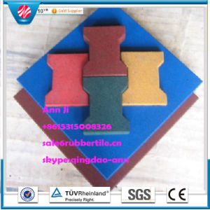 Playground Rubber Tile Rubber Factory Direct Indoor Rubber Floorings Tile pictures & photos