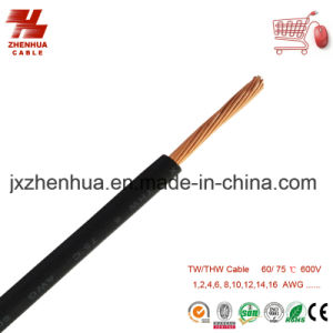 Thw Cable 10AWG 12AWG 14AWG 16AWG18AWG 600V pictures & photos