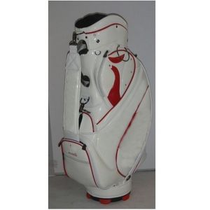 Classic White Golf Cart Bag for Men with Embroidery pictures & photos