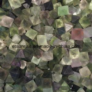Semi Precious Stone Crystal Fluorite Rough Nugget Stone pictures & photos