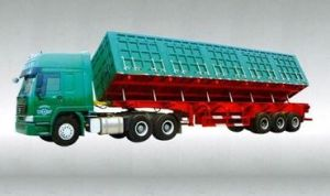 Hot Sale Tipper Semi-Trailer of Dump Truck pictures & photos