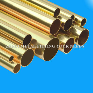 "ASTM B135 Standard 5/8""X1.0mm Polished Decorative Brass Round Tube pictures & photos"