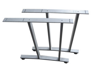 Powder Coating Surface Steel Table or Desk Frame Leg