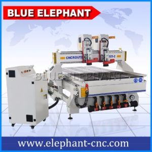 Doors Kitchen Cabinets Ele-1325 Wood CNC Router Furniture Making Machine pictures & photos