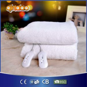 Tie Down Warm Fleece Electric Blanket with 220V Overheat Protection pictures & photos