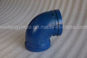 FM/UL Listed Ductile Iron 90 Degree Elbow for Drinking Water pictures & photos