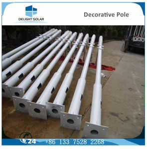10m/12m Hot-DIP Galvanized Steel Corrosion Resistant Round Conical Telescopic Pole pictures & photos