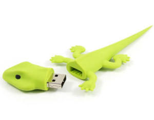 Lizard Shape USB Flash Drive with 2GB Capacity pictures & photos