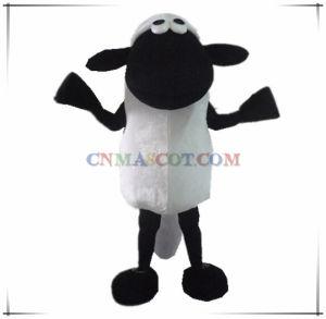 Funny Lovely Shaun The Sheep Mascot Costume Cartoon Character