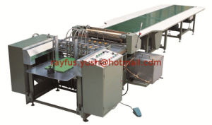 Manual Paper Sheet Feeding Gluing Machine pictures & photos
